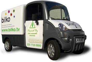 Bilko electric van