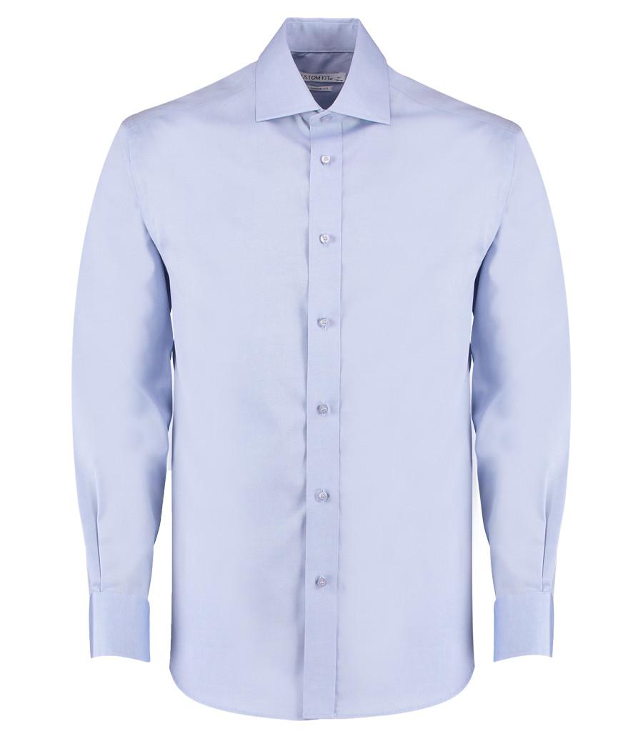 f33de29f23d K118 - Kustom Kit Premium Long Sleeve Classic Fit Oxford Shirt